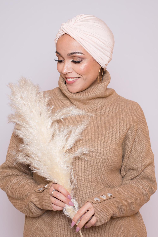 Bonnet turban nude