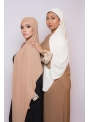 Abaya broderie moka boutique hijab pour femme musulmane