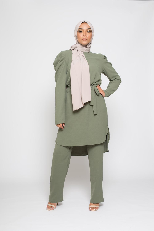 Ensemble Vogue vert