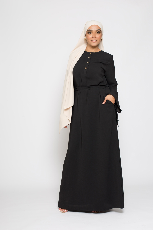Robe spring noir
