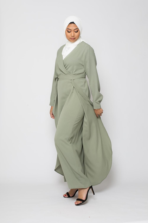 Robe salma sauge
