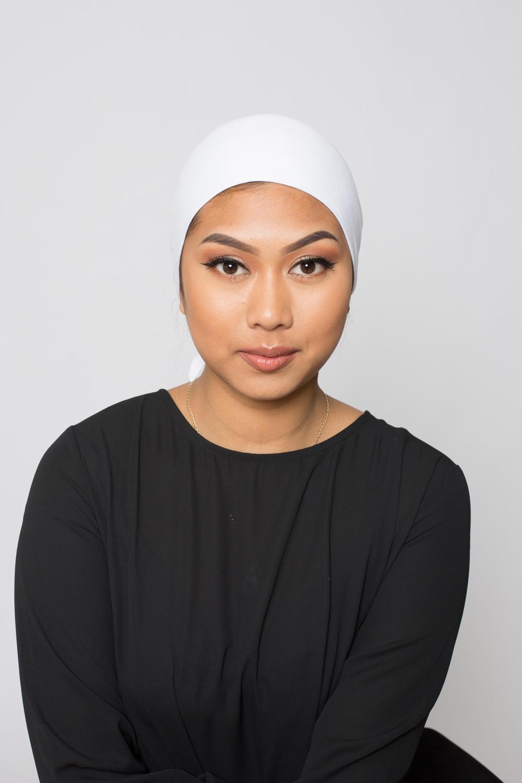 Bonnet à nouer blanc