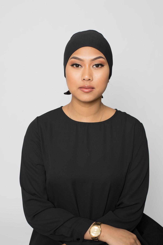 Bonnet à nouer noir