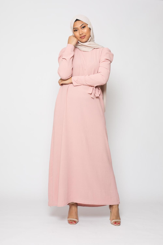 Robe Vogue vieux rose