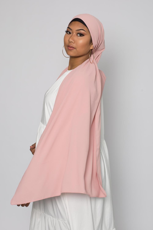 Hijab premium blush