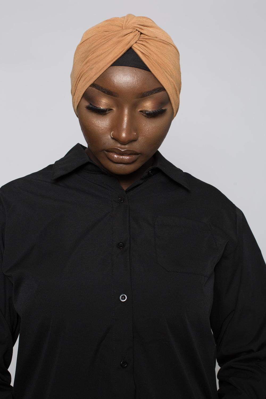 Bonnet turban camel