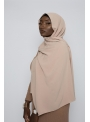 Hijab luxe jazz taupe boutique hijab pour femme musulmane