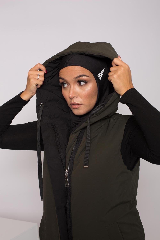 Hijab sport noir