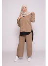 Ensemble cocoon taupe