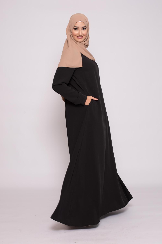 Robe Eva noir