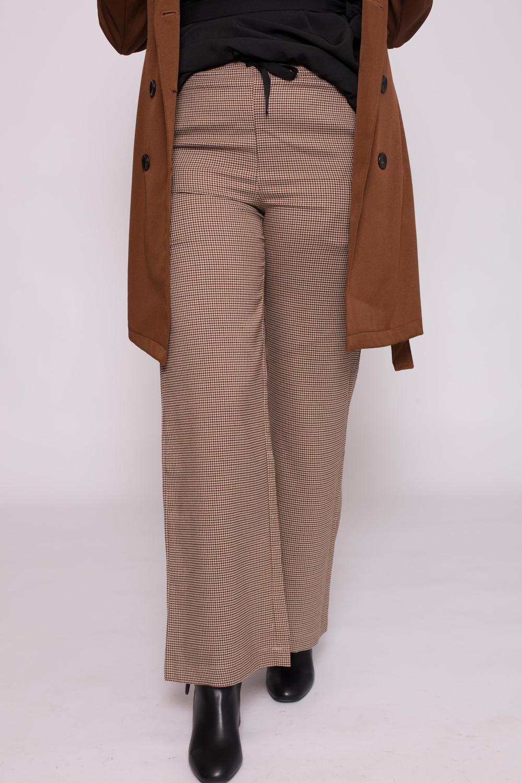 Pantalon large moka