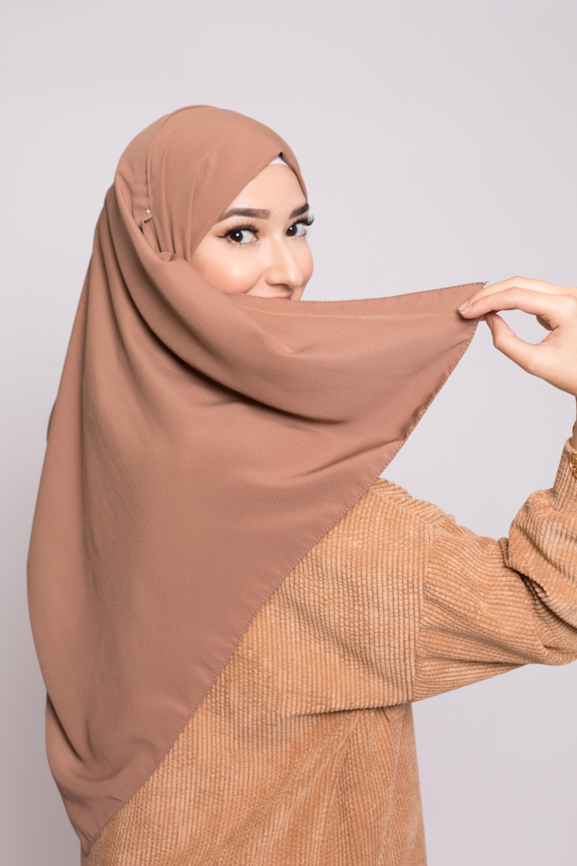 Hijab soie de médine viennois