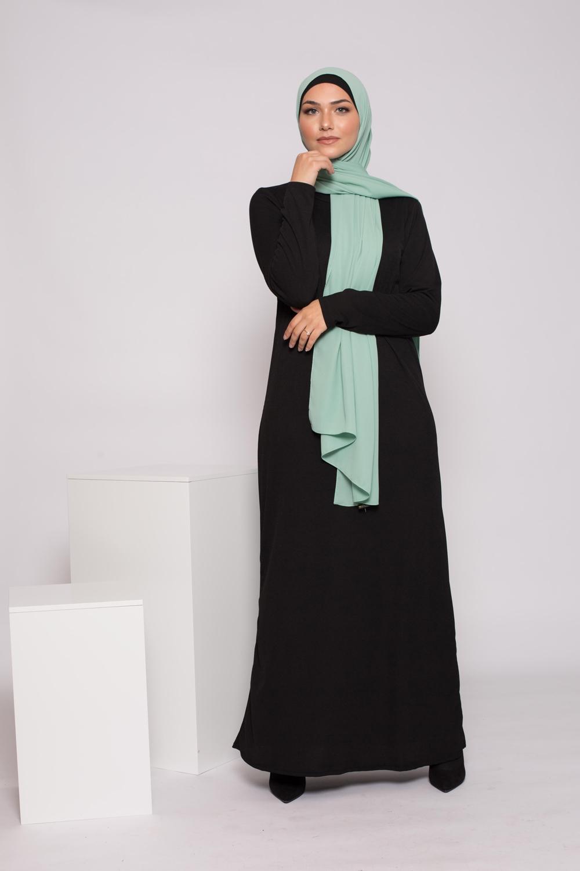Robe basic noir