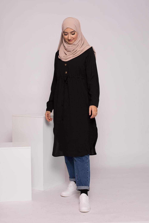 Tunique longue noir