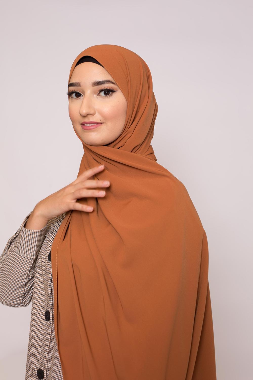 Hijab soie de médine automne