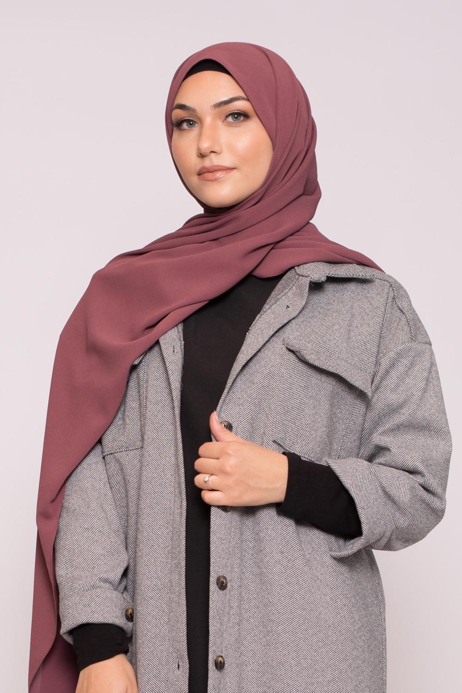 Hijab premium prune