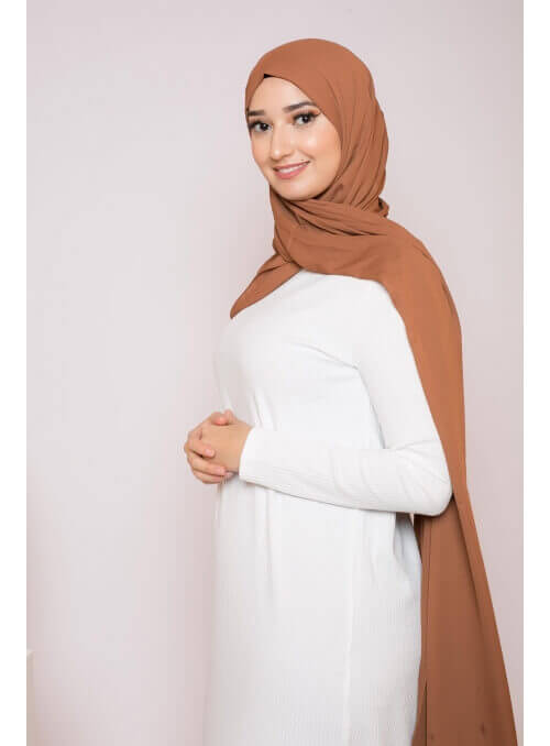 Robe pull blanche boutique hijab femme pas cher