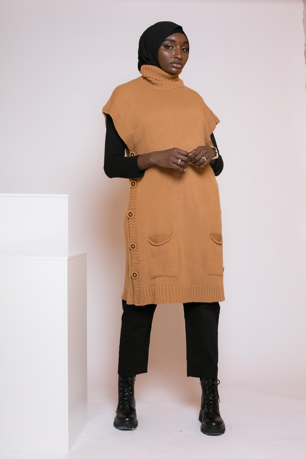 Pull pancho camel