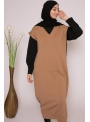 robe pull sans manche nude boutique femme musulmane
