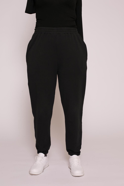 Jogging coton noir