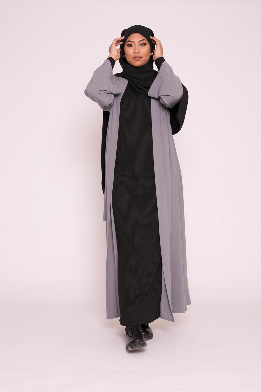 Kimono médine gris