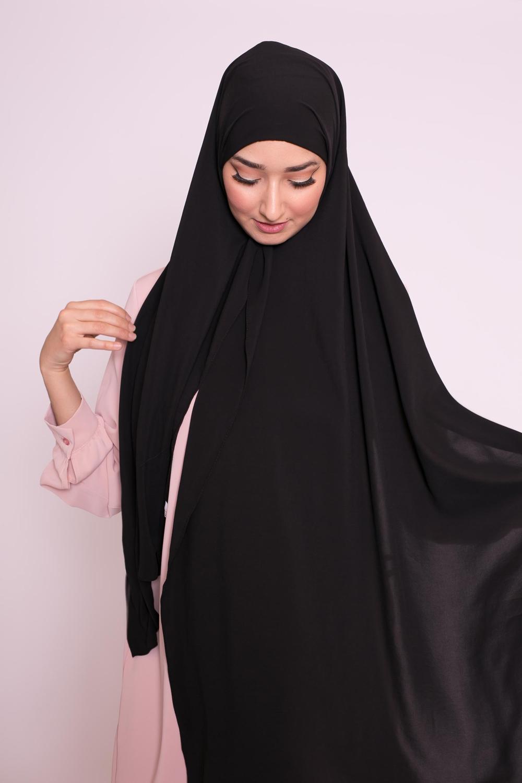 Hijab easy prêt à enfiler noir