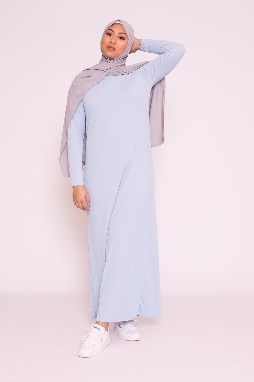 Robe basic bleu