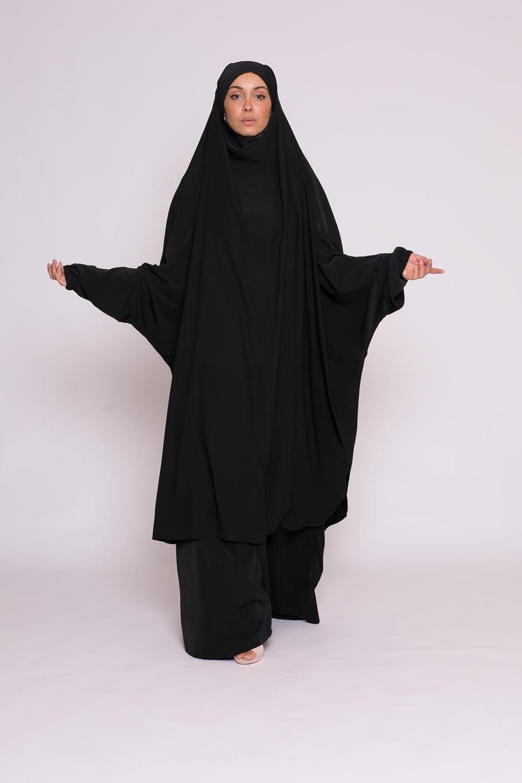 Jilbab 2pièces noir