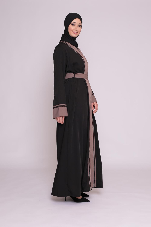 Abaya Nour taupe