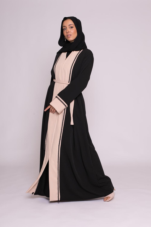 Abaya Nour nude