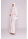 Robe warda nude