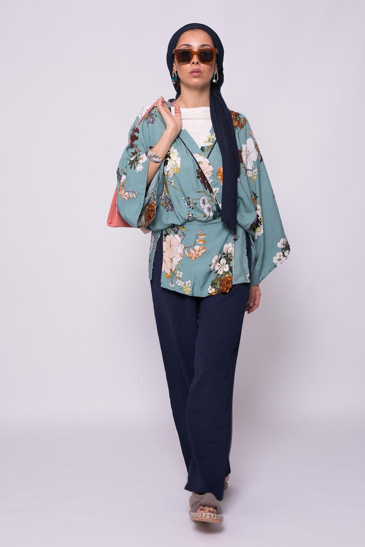 Haut kimono viscose