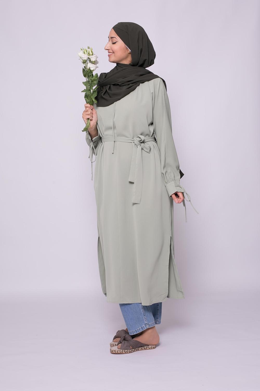 Robe tunique summer amande