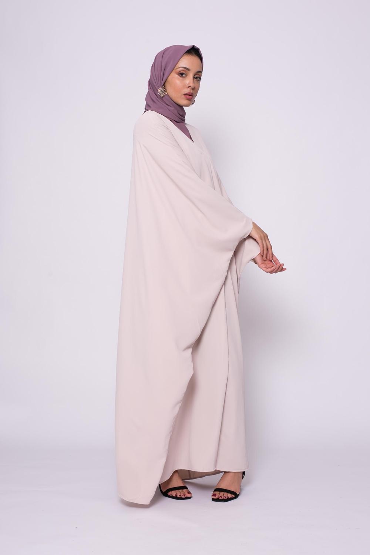 Robe farasha nude