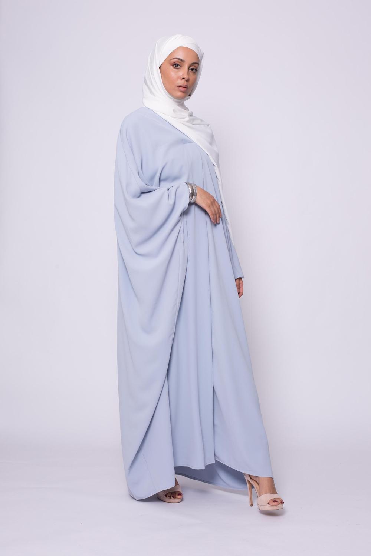 Robe farasha bleu