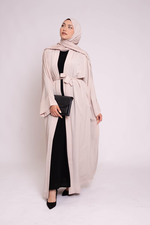 Ensemble kimono hijab nude
