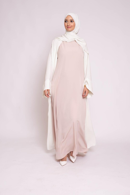 Robe sans manche nude