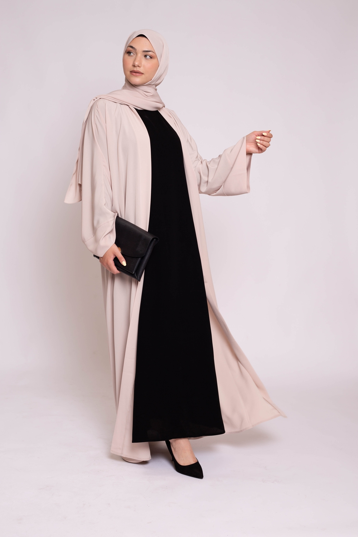 Robe sans manche noir
