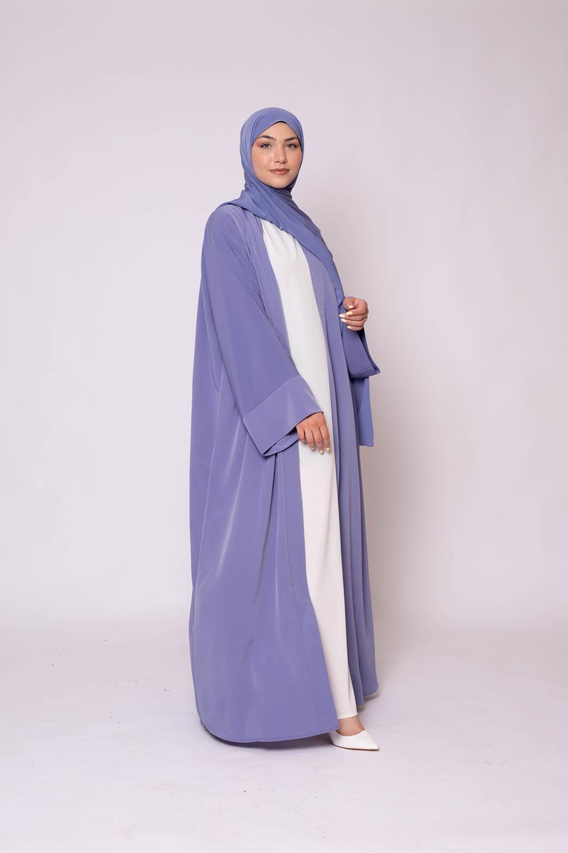 Ensemble kimono hijab denim