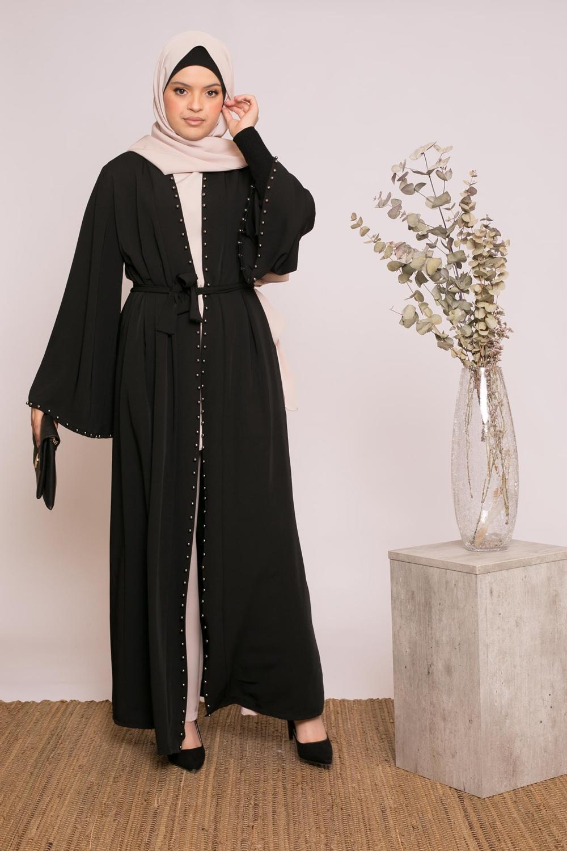 Kimono pearly noir