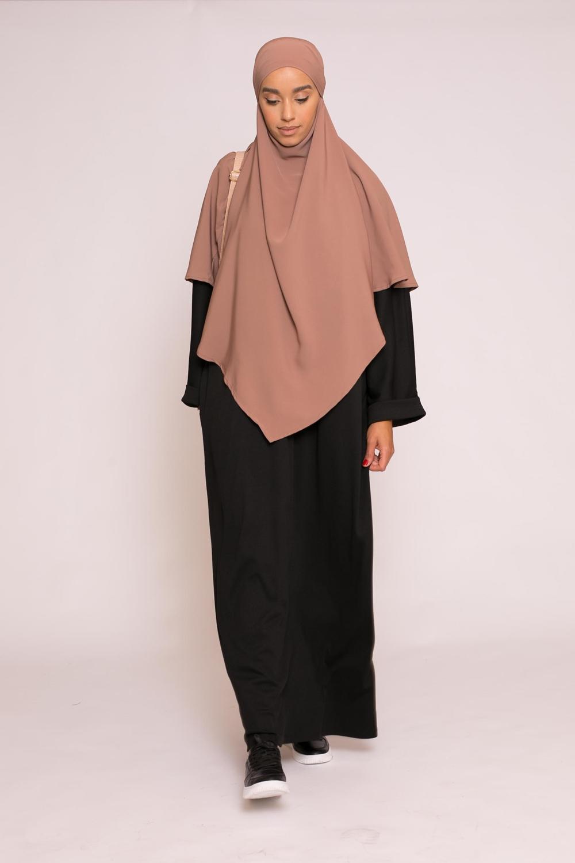 Abaya oversize noir