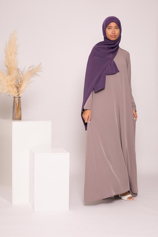 Robe Eva taupe gris