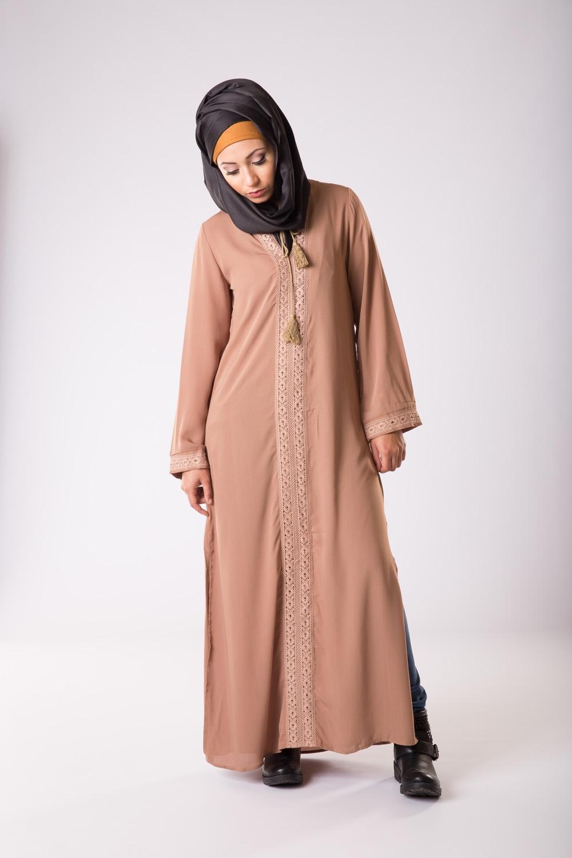 Abaya Casual Camel