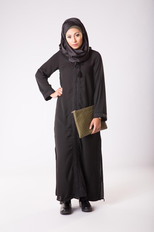 Abaya Casual Noir