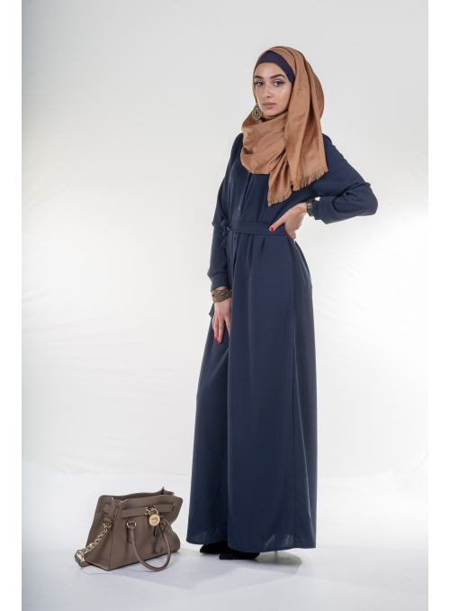 Robe Winter bleu marine