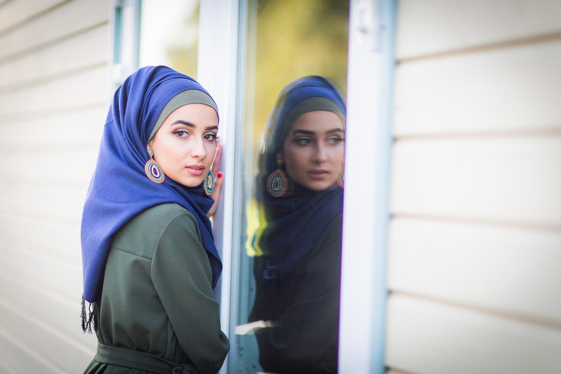 Hijab Bluenight