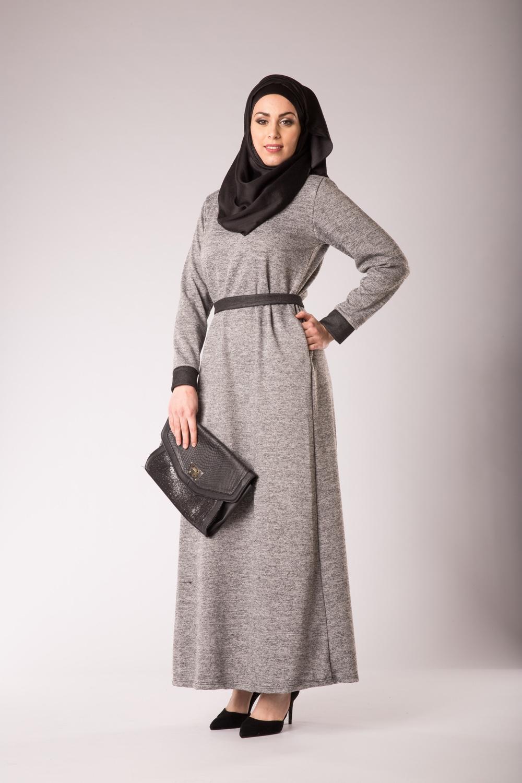 81d1b8e37134 Pull robe longue robe beige manche longue