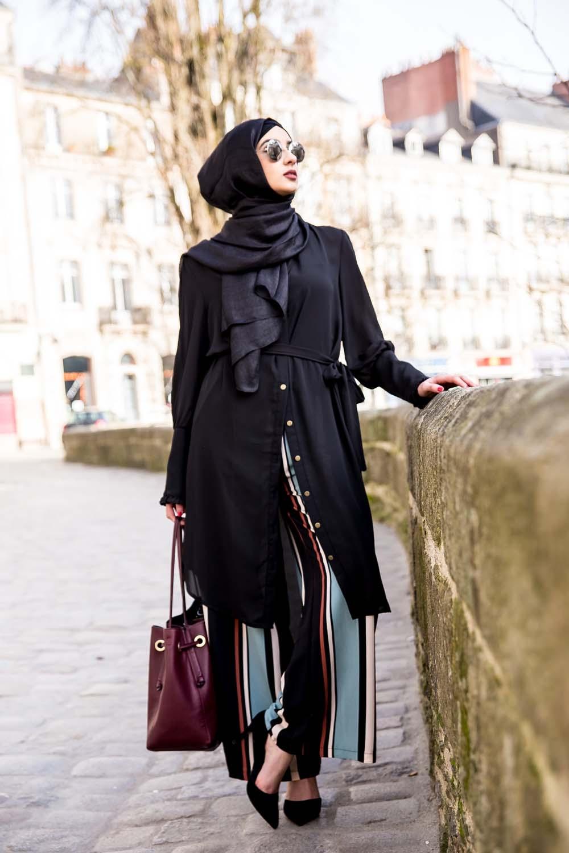 Tunique Chemise noir