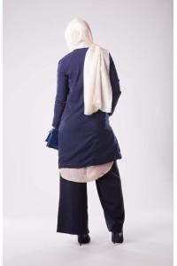 Veste habillée bleu
