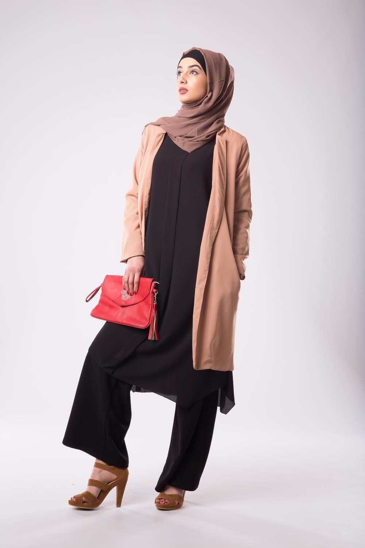 Veste habillée marron clair